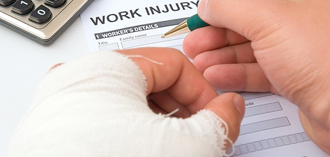 Injured during work? Then apply for worker's compensation.